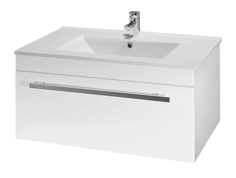 Linx ValueBaths 700 mm de pared con mueble de baño mezclador ...