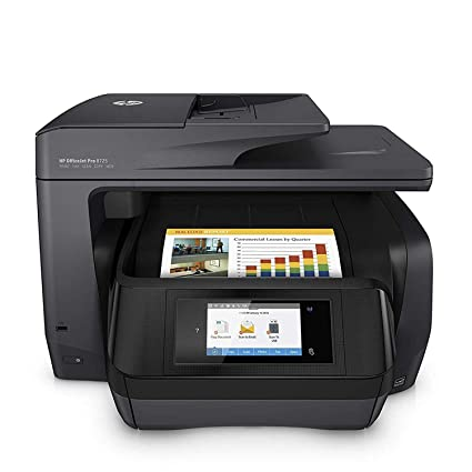 HP OfficeJet Pro 8725 - Impresora multifunción (Tinta Color, 1200 x 1200 PPP, A4, Incluido 3 Meses de HP Instant Ink) Color Negro