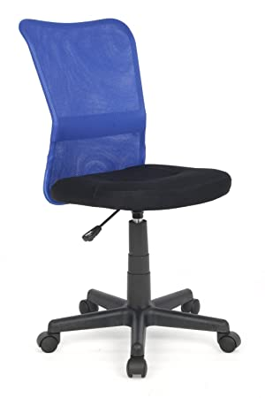 Silla de oficina Silla giratoria azul/negro - H-298F/1327: Amazon.es: Hogar