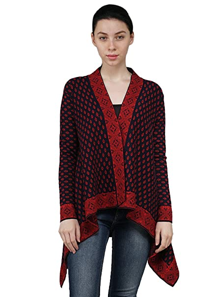 d6d9e1373af Kalt Women s Full Sleeves Autumn Winter Long Open Shrug  Amazon.in   Clothing   Accessories