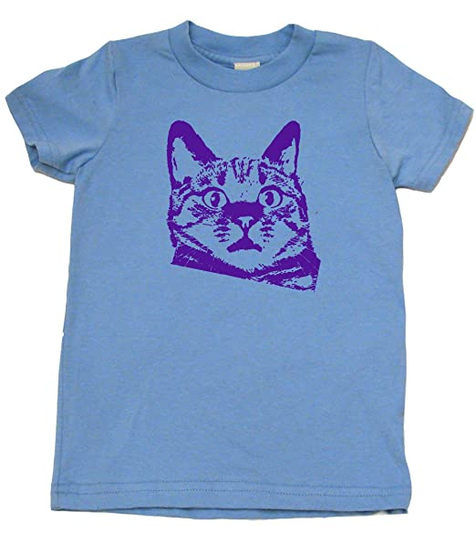 Amazon.com: Gato Gruñón divertido ropa infantil lindo Niño o ...