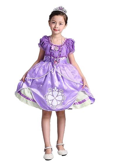 e9f22eb2f4329 Vogue(ボーグ) ソフィア 風 コスプレ ドレス ワンピース ハロウィン 衣装 子供 仮装 女の子 女王 姫
