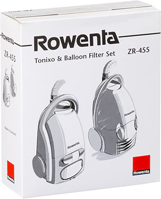 Rowenta ZR455-10 Bolsas papel + 1 Microactivo para aspiradora Balloon y Tonixo: Amazon.es: Hogar