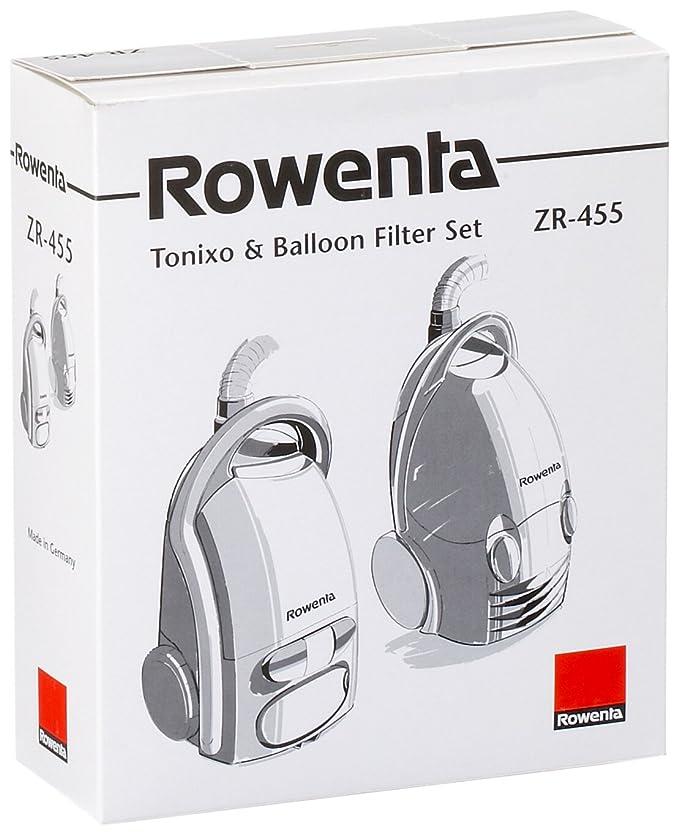 Rowenta ZR455-10 Bolsas papel + 1 Microactivo para aspiradora Balloon y Tonixo