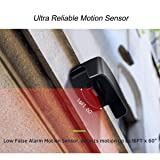 Driveway Alarm, EutDett Outdoor Weatherproof Motion Sensor Detector, DIY Wireless Security Alert System for Home, Yard, Garage, Gate, Pool, Outside Property Safety