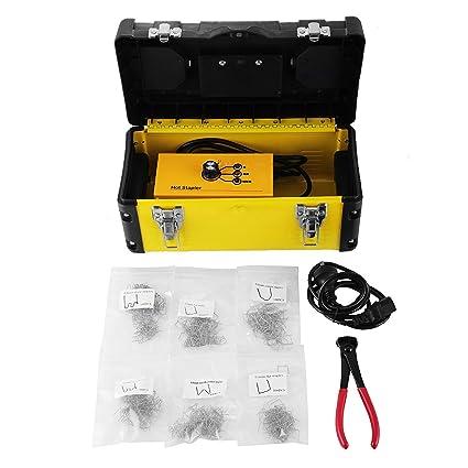 Beyondlife máquina de soldadura de reparación de plástico Hot stapler Tool Gun Kit para parachoques de