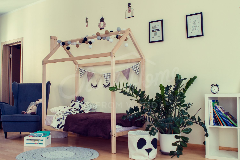 Sweet Home da Legno Montessori casa Letto su Gambe