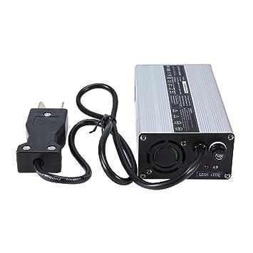 Amazon.com: OHMOTOR - Cargador de batería para carro de golf ...