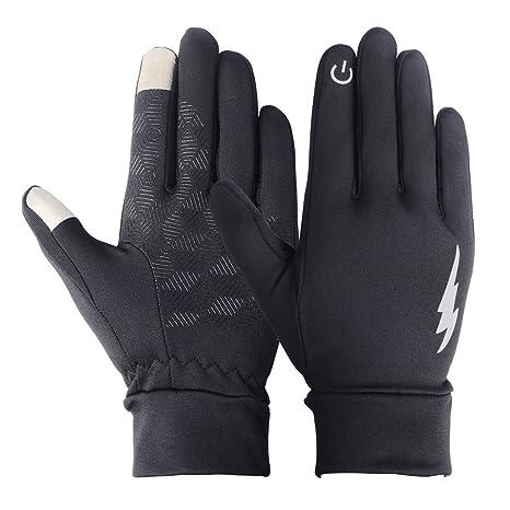 Gants Vêtements Adaptés Aux Écrans Tactiles,Purple,L Hiver Gants De Ski pour Homme Et Femme Gants De Sports De Plein Air Coupe-Vent Et Chauds