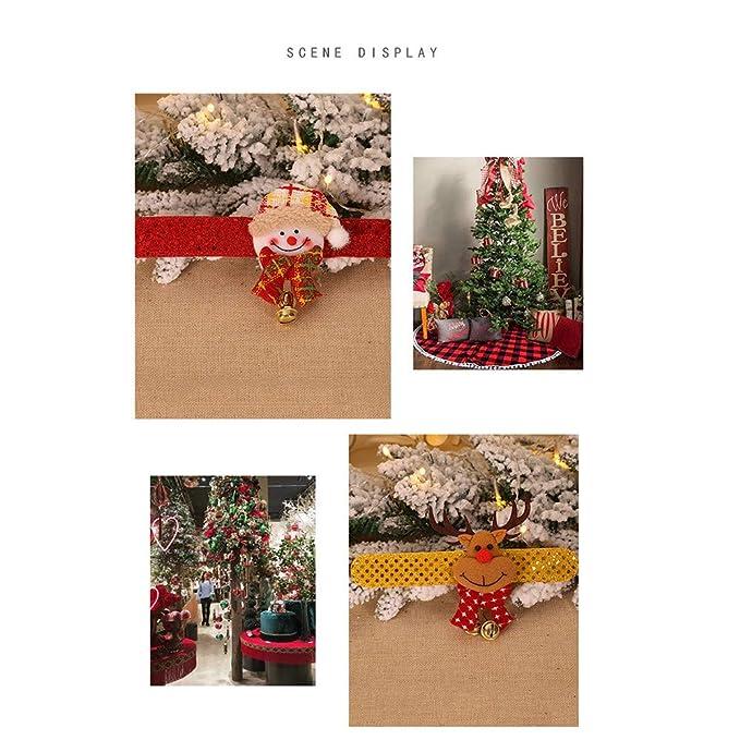 TianranRT Pulsera de Noël Elk Pulseras Bofetada Pulsera a ...