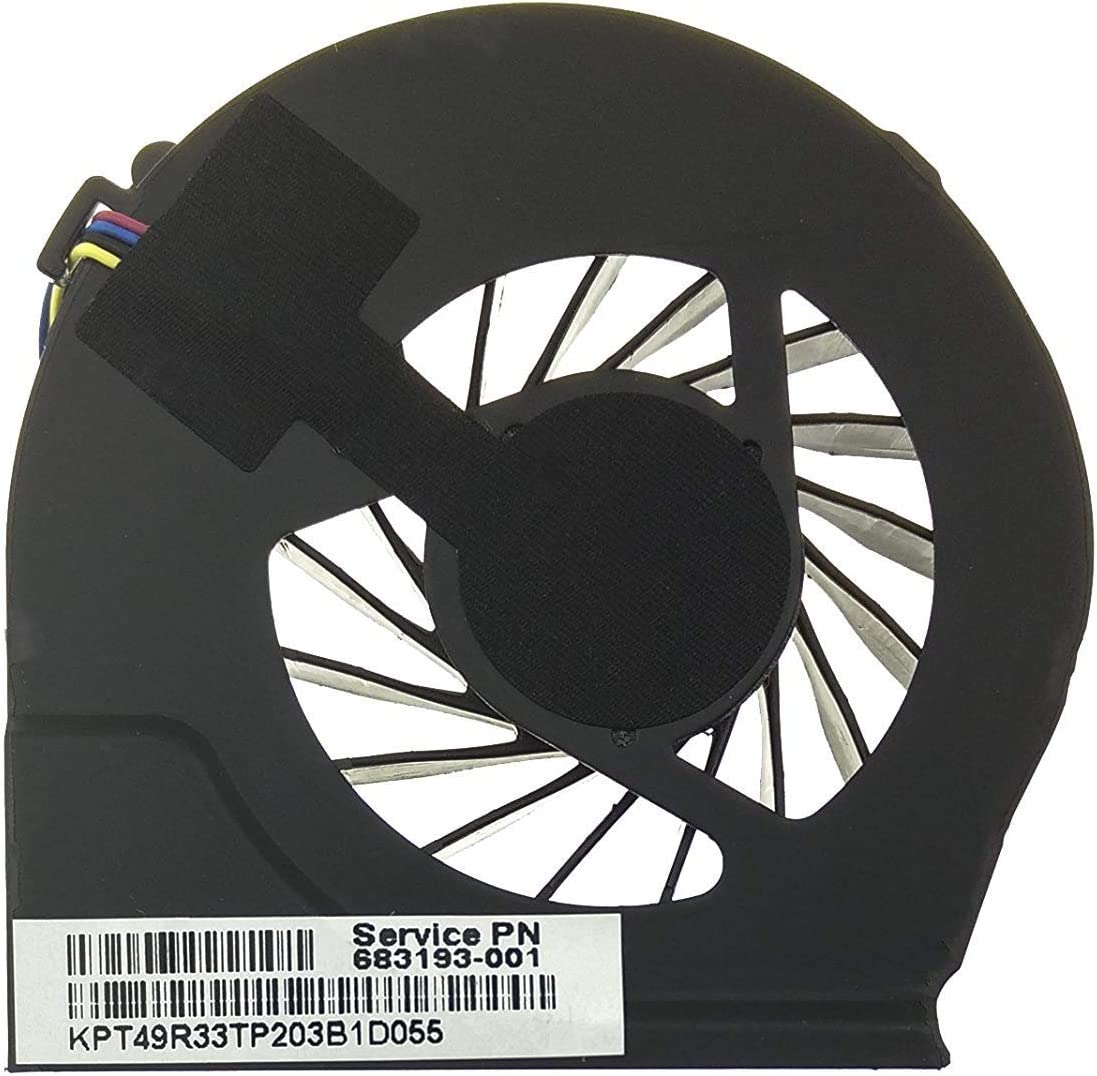 3CTOP CPU Cooling Cooler Heat Sink Fan for HP Pavilion G6-2000 G7-6000 g4-2002xx g4-2029wm g4-2051xx g4-2149se g4-2169se g4-2189ca 683193-001 055417R1S Series 4 pins