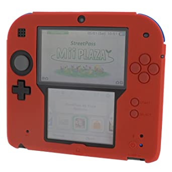 the latest 0a3a8 d9879 Amazon.com: Zedlabz Silicone Protective Cover For Nintendo 2ds [red ...