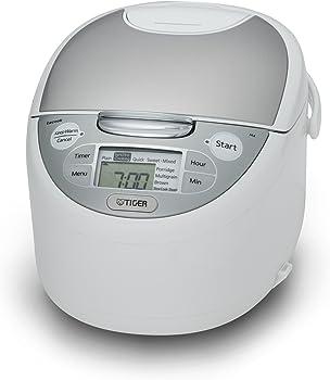 Tiger JAX-S10U Microcomputer Controlled Rice Cooker & Warmer