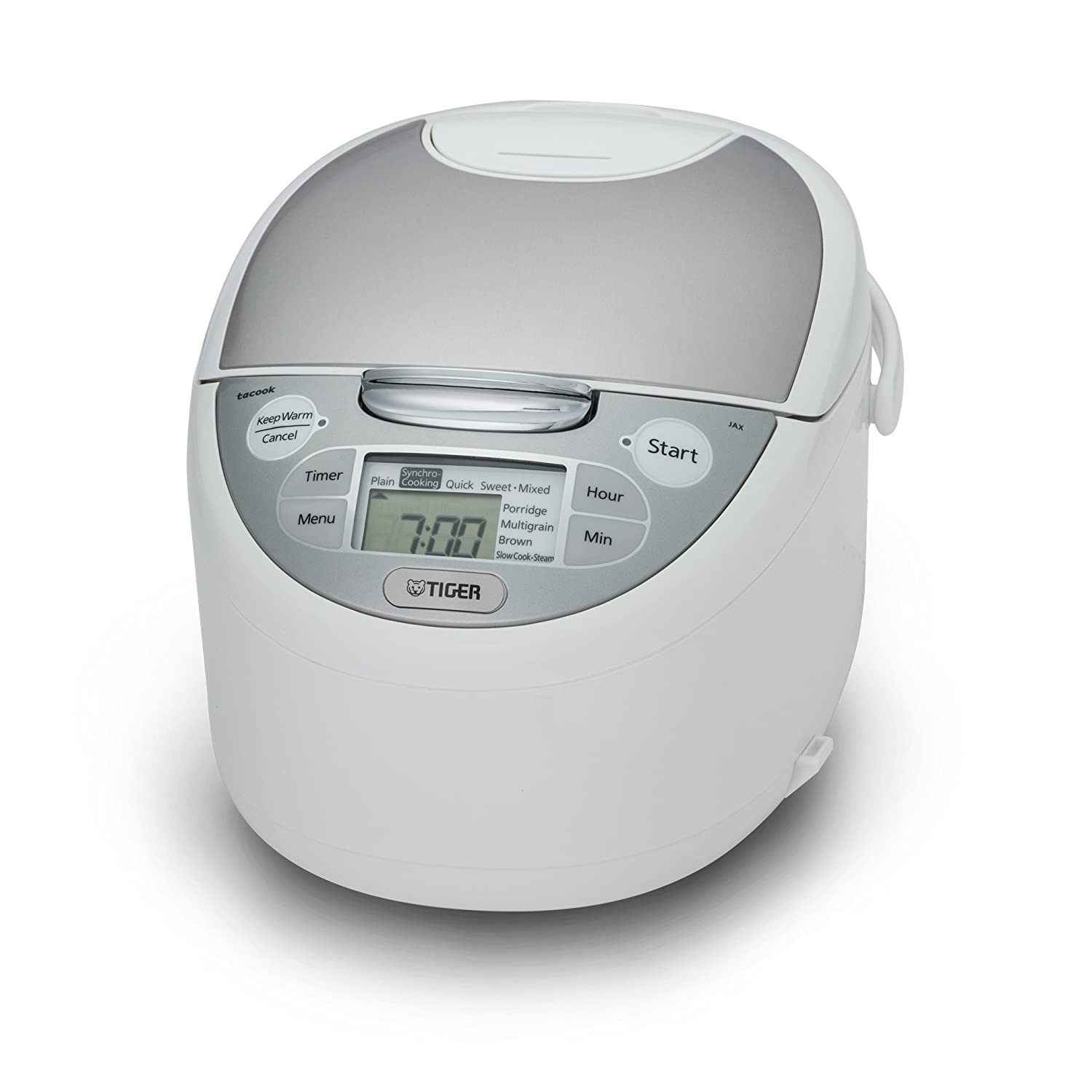 Tiger JAX-S10U-WY 5.5-Cup (Uncooked) Micom Rice Cooker & Warmer, Steamer, and Slow Cooker Tiger Corporation