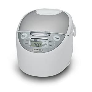Tiger JAX-S10U-WY 5.5-Cup (Uncooked) Micom Rice Cooker & Warmer, Steamer, and Slow Cooker