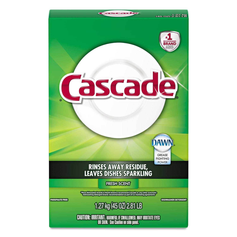 Dishwasher Brands Amazoncom Cascade 34034 Fresh Scent Automatic Dishwasher
