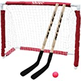 Mylec Jr. Hockey Goal Set, White , 40'X36'X15'