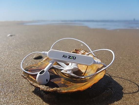 Ziu Smart Items - Auriculares Bluetooth inalámbricos, Deportivos, cancelación de Ruido, Sonido estéreo, micrófono Incorporado, para iPhoone, iPad, ...