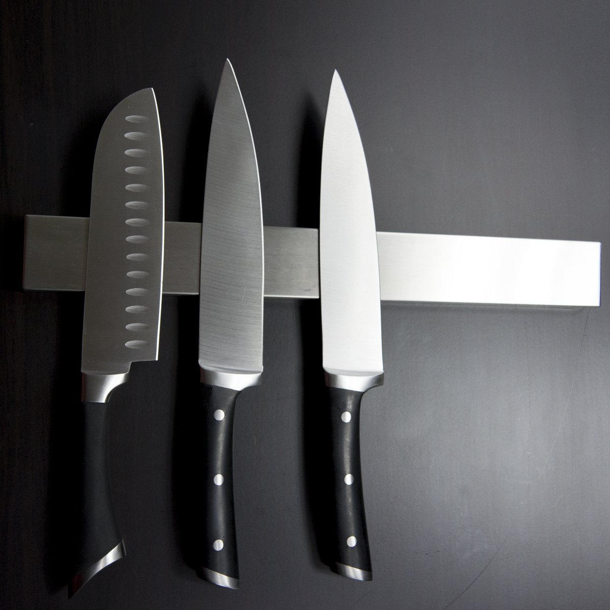 +Hot+ 16 Inch Stainless Steel Magnetic Knife Holder Magnetic Knife Strip, Magnetic Knife Bar Stainless Steel Easy to Install by Misc Home