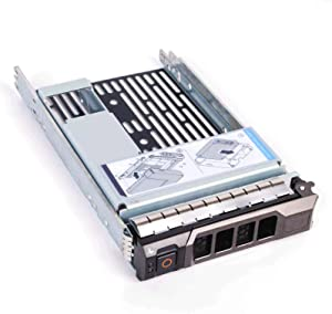 3.5 inch Hard Drive Tray Caddy with 2.5'' Adapter for Dell Poweredge SAS/SATA R310 T310 R410 T410 R415 R510