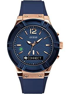 Guess Ace Mens Touch AMOLED Azul, Rose Gold SmartWatch ...