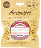 ノルコーポレーション マスキングテープ 香り付き シトロネラの香り AOZ-1-01 マルチボーダー
