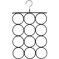 SONGMICS Organizador para Pañuelos y Bufandas, Percha metálica