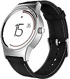 Alcatel TCL Movetime Smartwatch cuero, negro