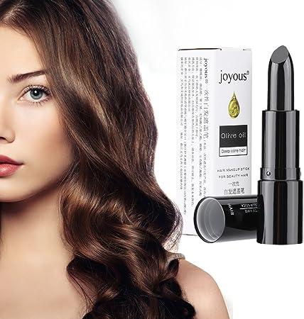 Bolígrafo profesional para tinte para el cabello - Barra para el color del cabello, Crema para el cabello temporal - Lápiz labial para tinte para el ...