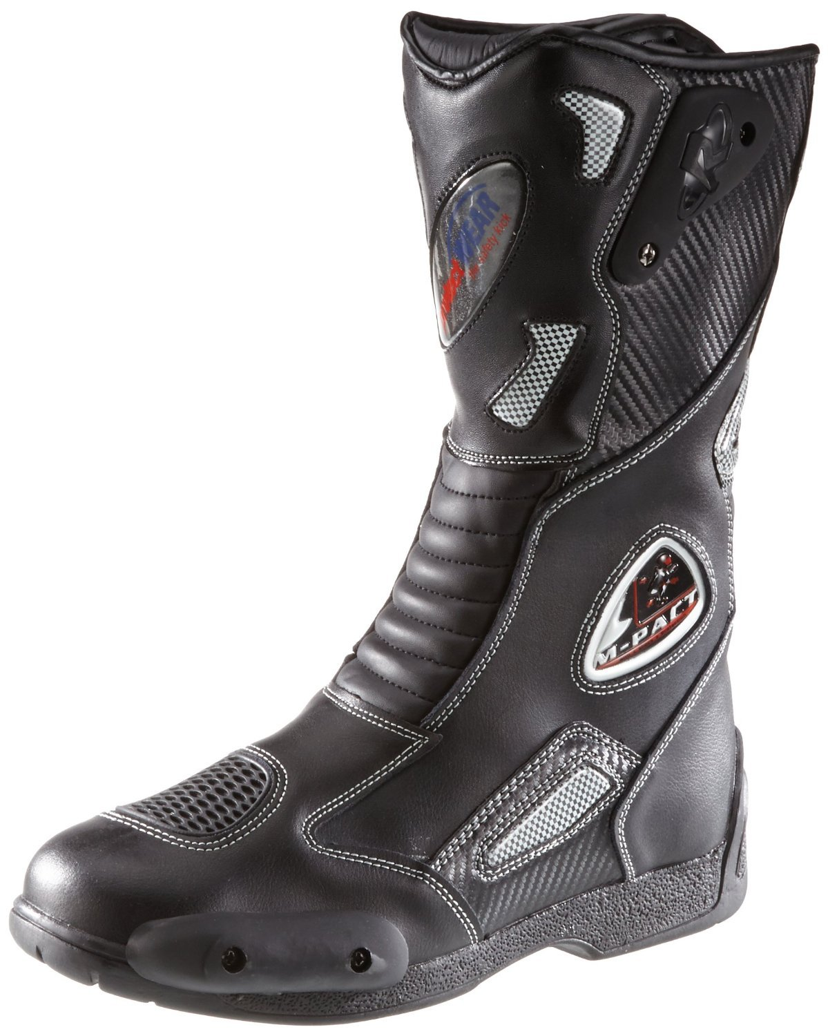 Protectwear Motorcycle boots Sport SB-03203-44,  Size 44, Black