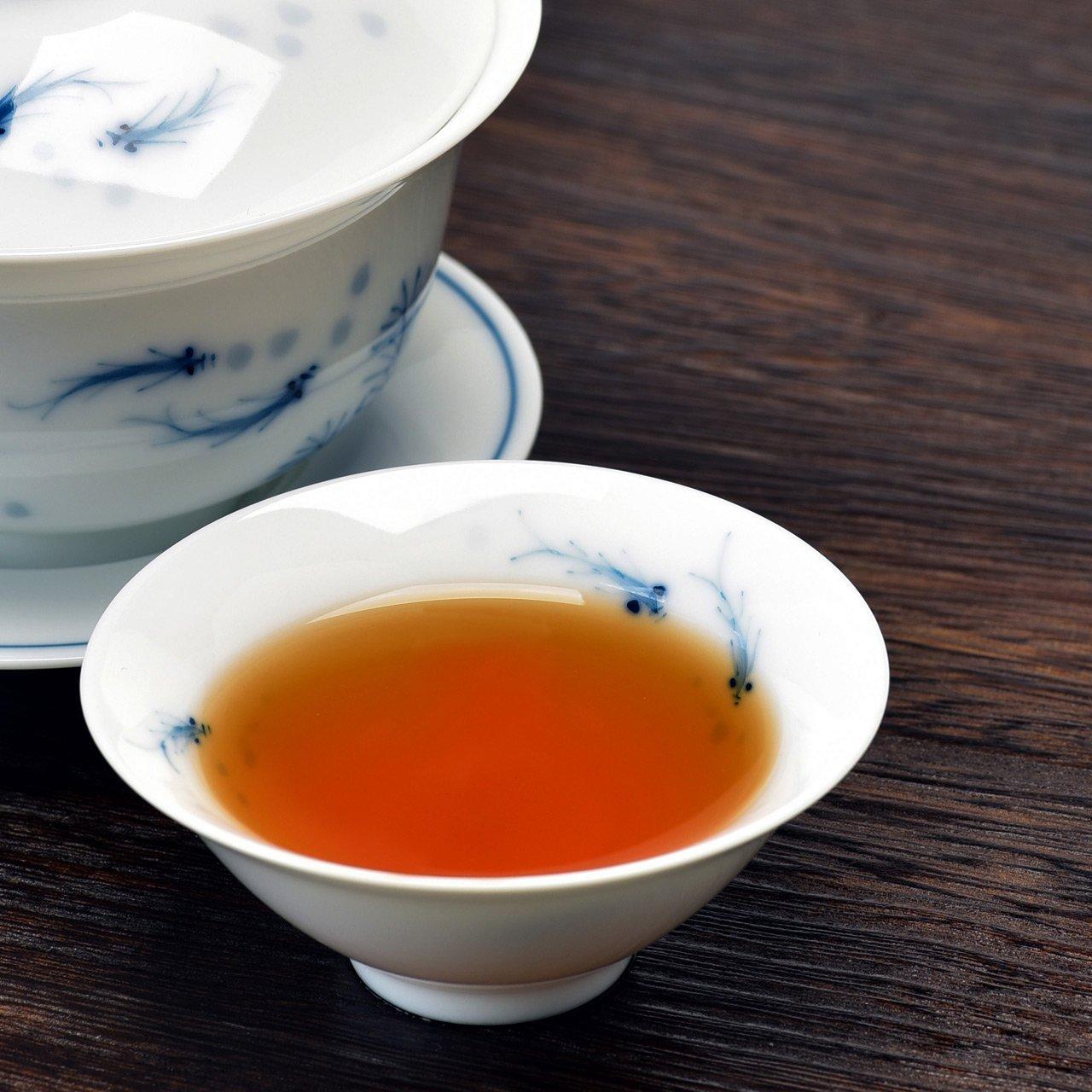 Teavivre Organic Lapsang Souchong Smoky Black Tea Loose Leaf Chinese Tea (3.5oz / 100g)