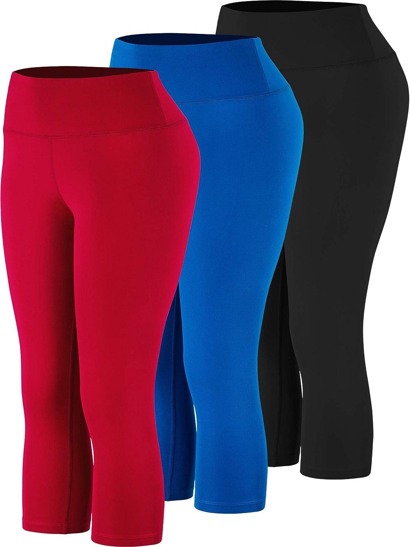 Cadmus High Waist Yoga Leggings Capri with Pockets