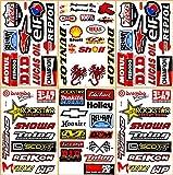 Dirt Bike Pro Motocross Supercross Motorcycles MotoGP ATV Helmet Racing Lot 6 Vinyl Graphic Decals Stickers D6205 Best4Buy