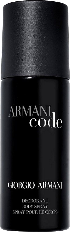Giorgio Armani Code homme / men, Deodorant, Vaporisateur / Spray 150 ml, 1er Pack (1 x 150 ml) 1BD7102