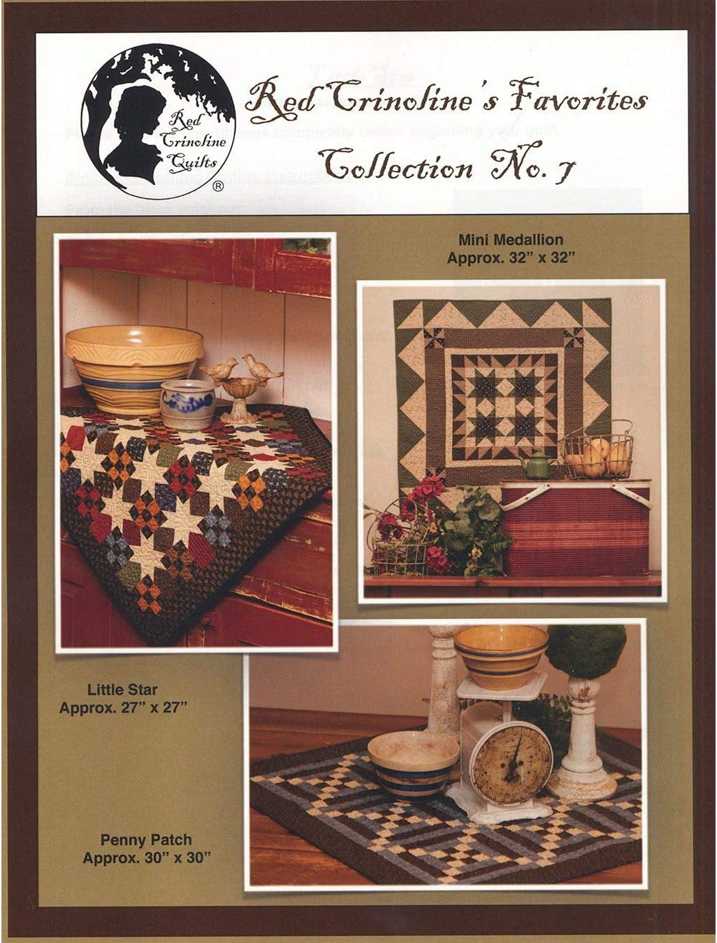 Red Crinolines Favorites Collection #7 Quilt Pattern by Red Crinoline Quilts