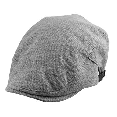 4944db993af uxcell Women Men Adjustable Vintage Style Newsboy Duckbill Ivy Cap Cabbie  Driving Golf Winter Warm Flat Beret Hat Light Gray  Amazon.in  Clothing    ...