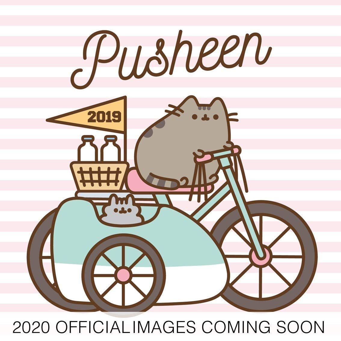 Pusheen 2020 Calendar - Official Square Wall Format Calendar ...