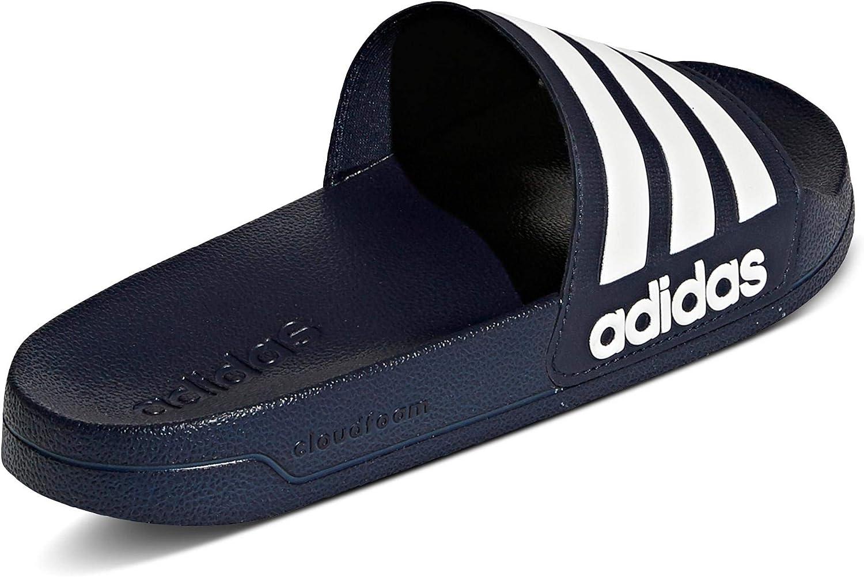 adidas Jungen Adilette Shower Dusch- & Badeschuhe Blau Collegiate Navy Footwear White Collegiate Navy 0