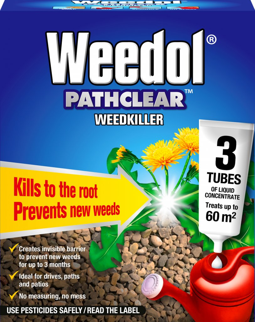 Pathclear Weedkiller 3 Tubes