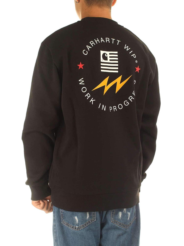 Carhartt State Sports Sweathshirt I025493 Black Felpa Uomo