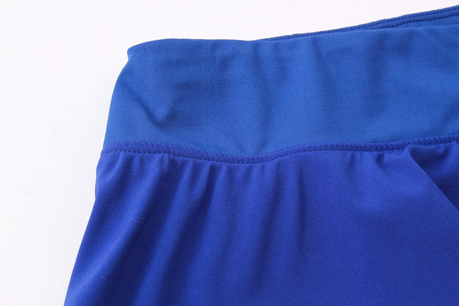 Tailloday Womens Sports High Waist Pleated Elastic Quick-Drying Yoga Tennis Skirt with Panty