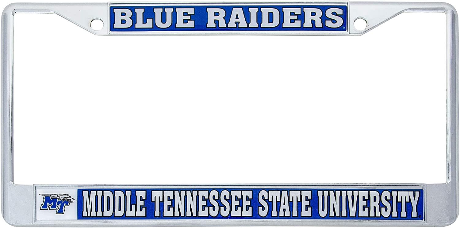 Mascot Desert Cactus Coppin State University CSU Eagles NCAA Metal License Plate Frame for Front Back of Car Officially Licensed