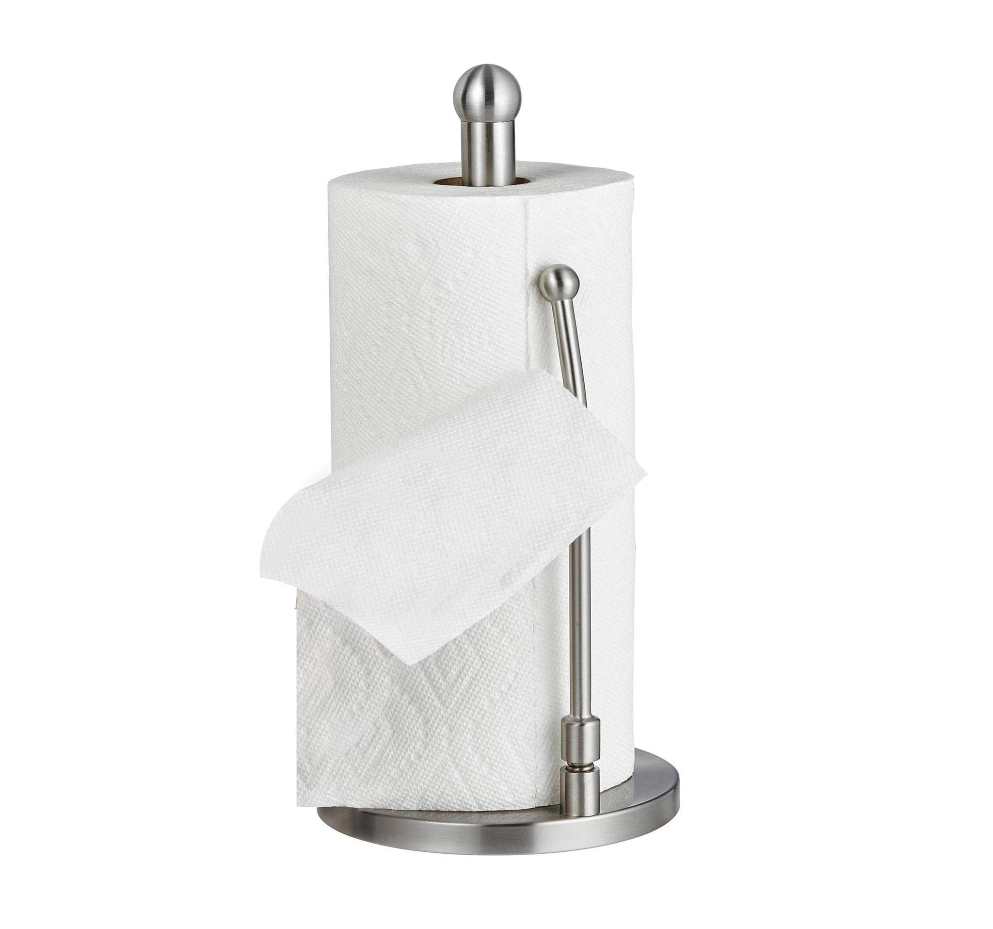 Alpine Industries Stainless Steel Paper Towel Holder Keeps Kitchens Tidy