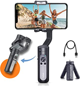 Hohem iSteady X Gimbal Stabilizer,3-Axis Handheld Gimbal with Selfie Mode,App 11