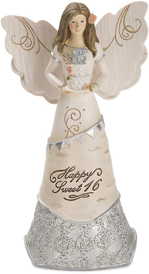 Amazon Pavilion Happy Sweet 16 Angel Figurine Holding A