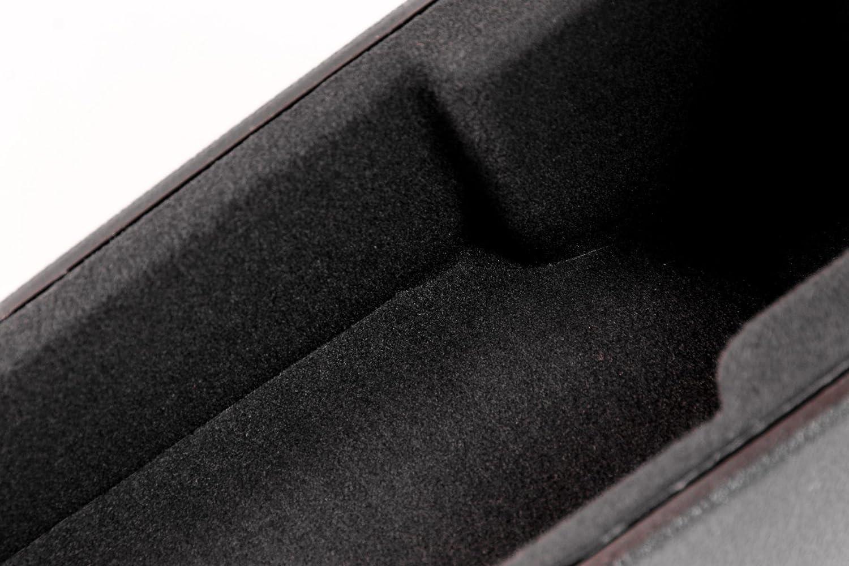depuis Electronic bpg370420/de N cuir Accoudoir en cuir noir
