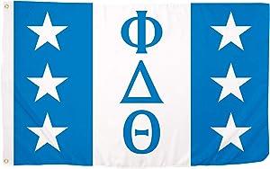 Phi Delta Theta Chapter Fraternity Flag 3 feet x 5 feet Polyester Banner Sign Decor Phi Delt