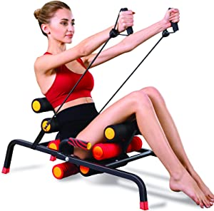 MBB EZ Squatting, Home Gym Equipment, 10 in 1 Exercise Machine,Ab Machine,Burn Fat All Over Your Body,Protect Your Knees. Abs and Total Body Workout,Sole Brand and Patent Owner