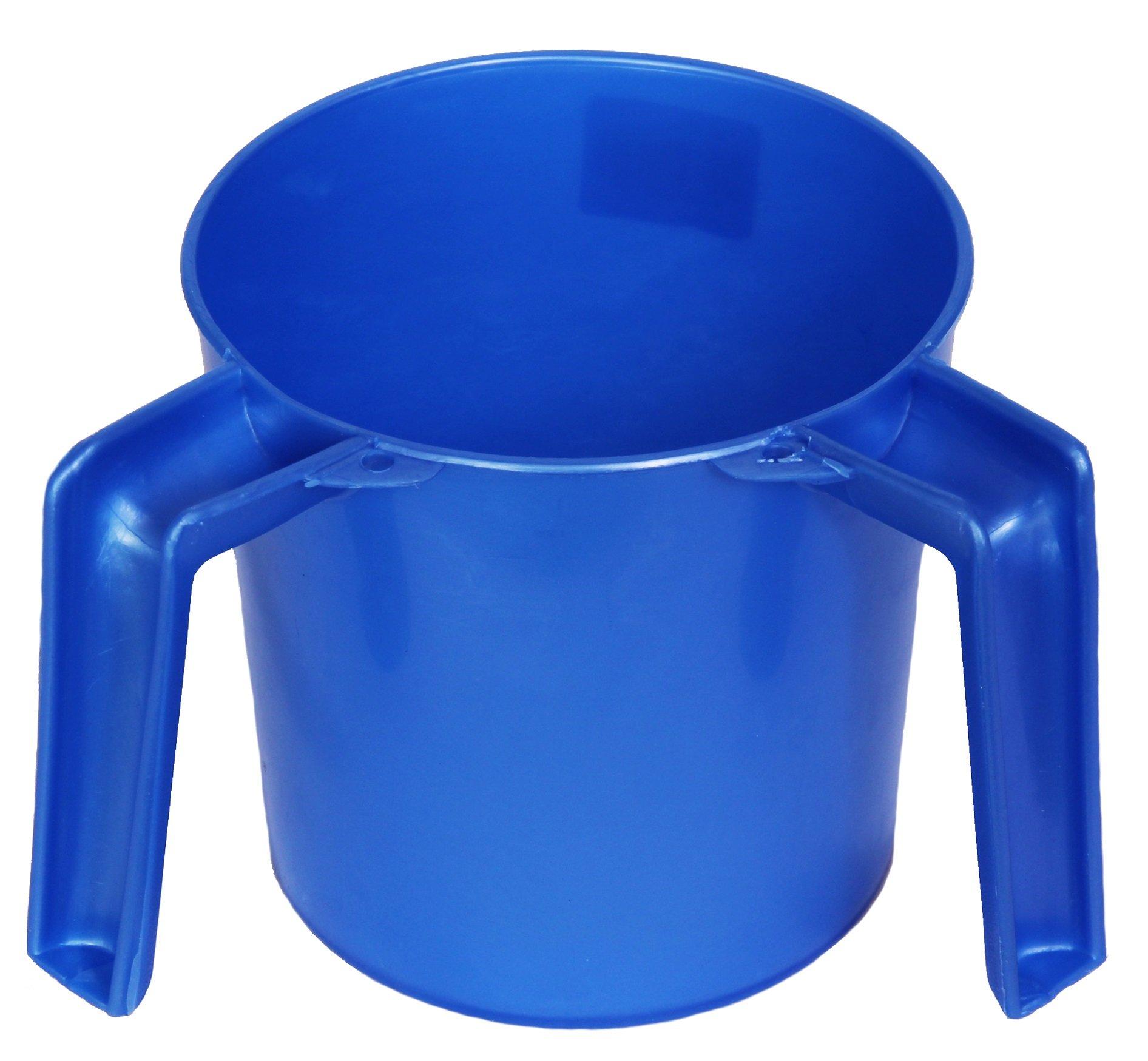 Ybm Home Plastic Round Wash Cup Ba157 (4, blue)