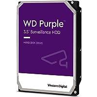 """Western Digital WD10PURZ Purple 1TB 3.5"""" Surveillance HDD 5400RPM 64MB SATA3 6Gb/s 110MB/s 180TBW 24x7 64 Cameras AV NVR…"""